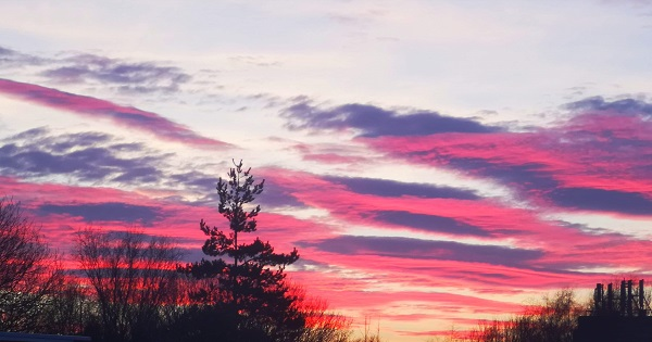 Colourful Sky by Freewayriding