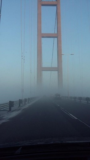 Fog over the Humber