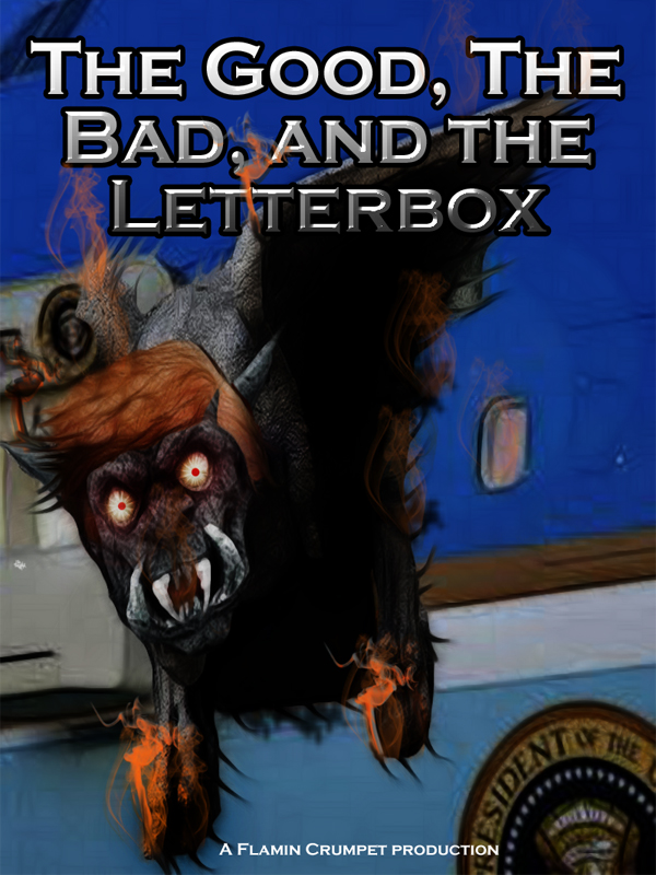 The Good, the Bad, and the Letterbox, by FWR.
