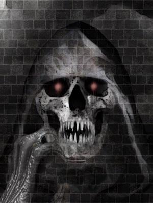 A ghastly wraith.