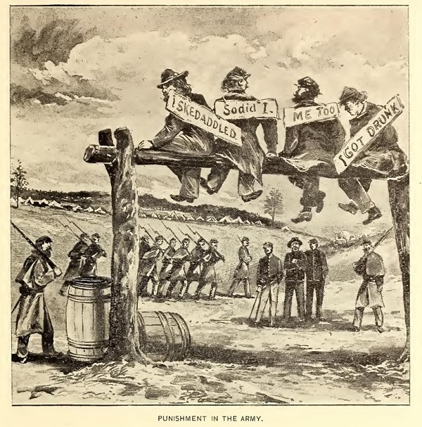 Punishment in the Union Army in the 1860s