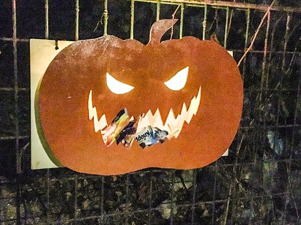 Tavaron's Halloween pumpkin