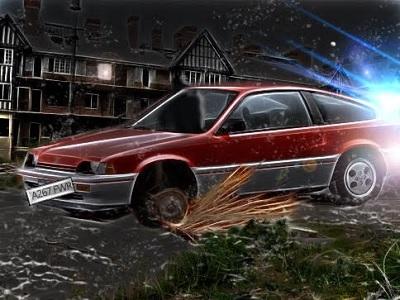 A dead fast car