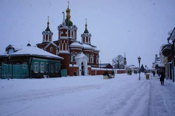 Krestovozdvizhensky Cathedral  by Solnushka