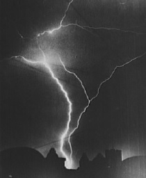 Lightning courtesy of the Library of Congress