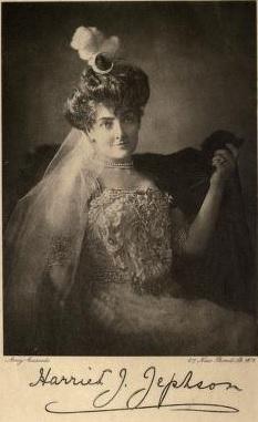 Lady Jephson in her prime.