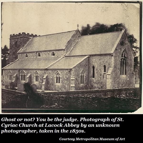 Ghost at church