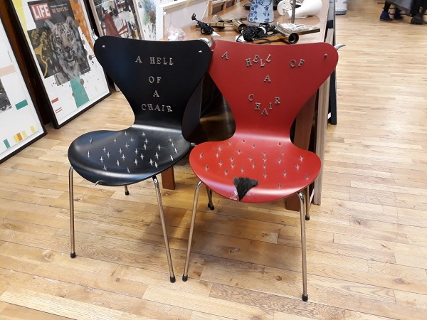 Chairs from  Hell by Milla