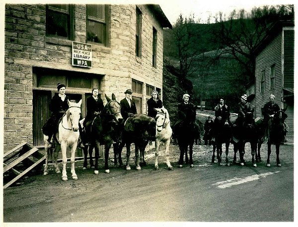 Pack Horse Librarians by Library of Congress.