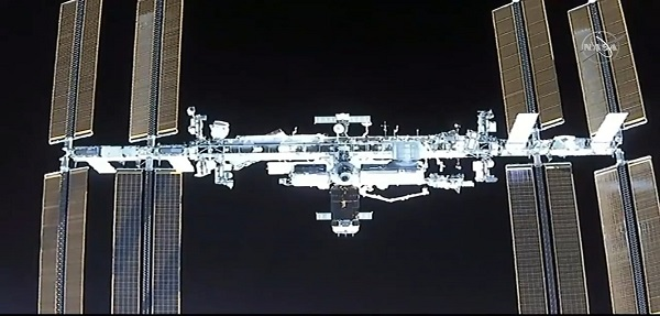 ISS in View by NASA