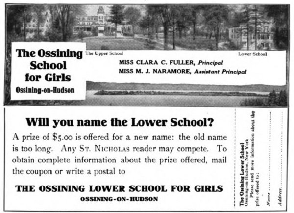 An invitation to rename Ossining Lower School for Girls