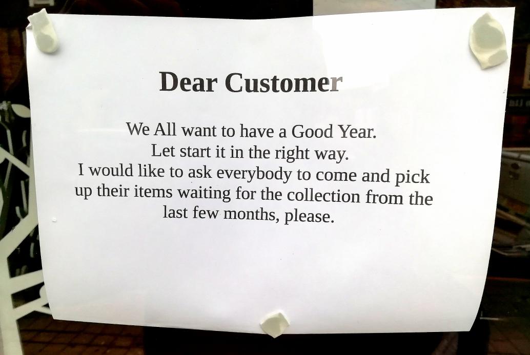 Dear Customer by Paigetheoracle