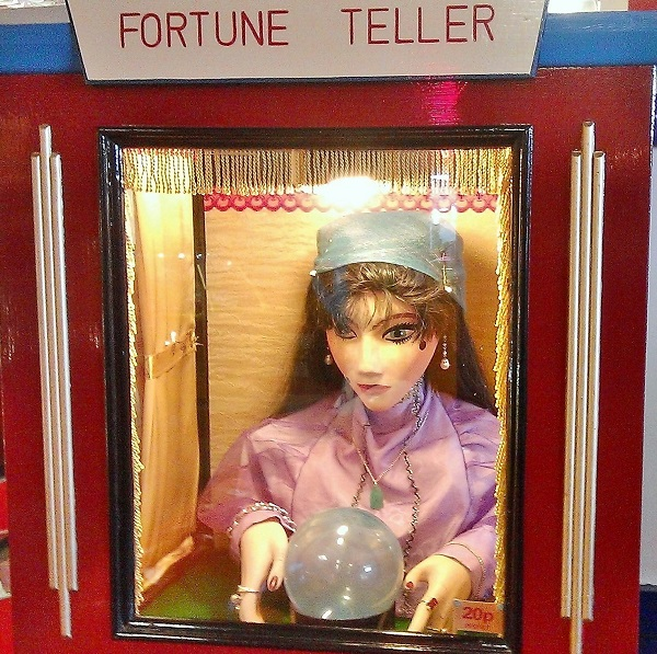 Funhouse Fortune Teller by Paigetheoracle