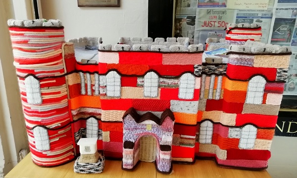 Knitted house, Scotland.