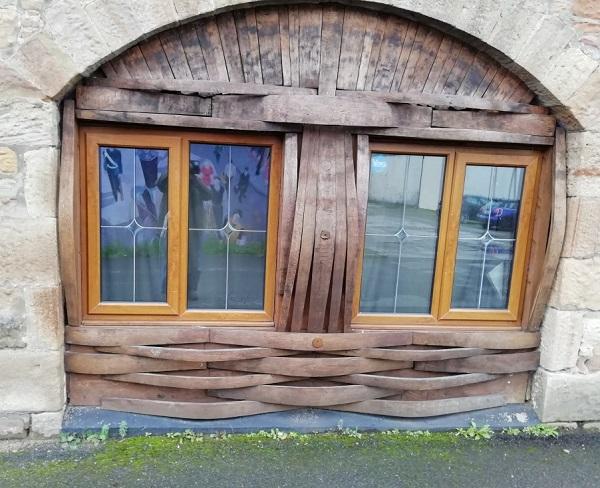 Nightclub window in Scotland, by Paigetheoracle.