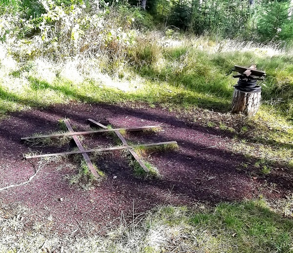 Noughts and Crosses in the Woods by Paigetheoracle