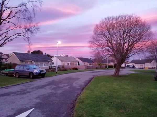 Vivid Skies over Scotland by Paigetheoracle