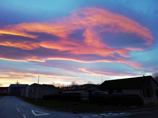 Vivid skies in Scotland