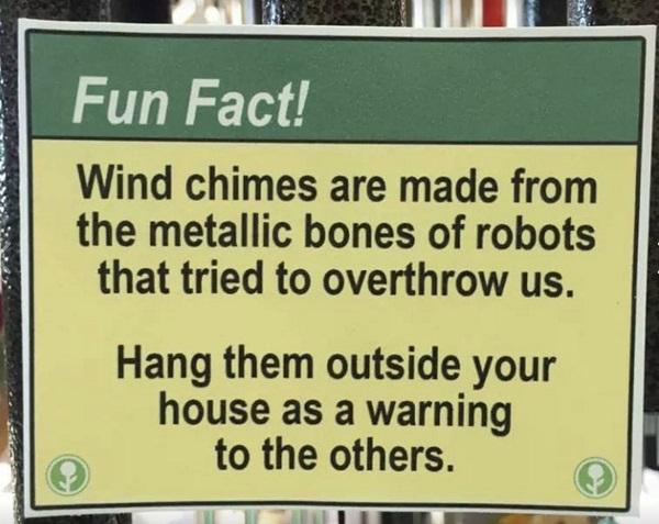 Wind Chines by Robbie Stamp