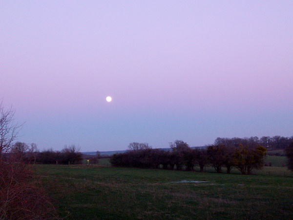 Moonrise Contrast 1 by Superfrenchie