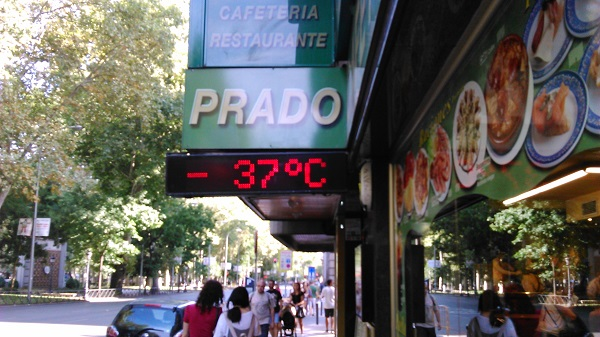 Weird Weather in Madrid