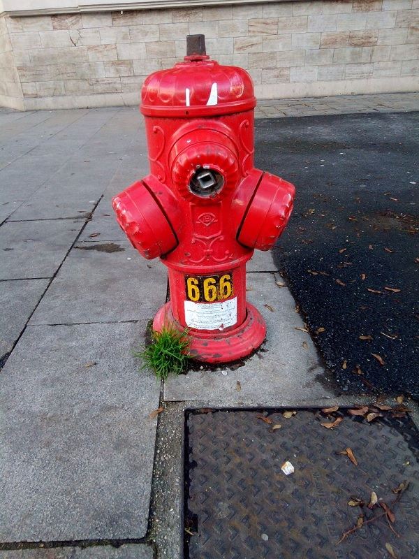 The Devil's Fire Hydrant by Superfrenchie
