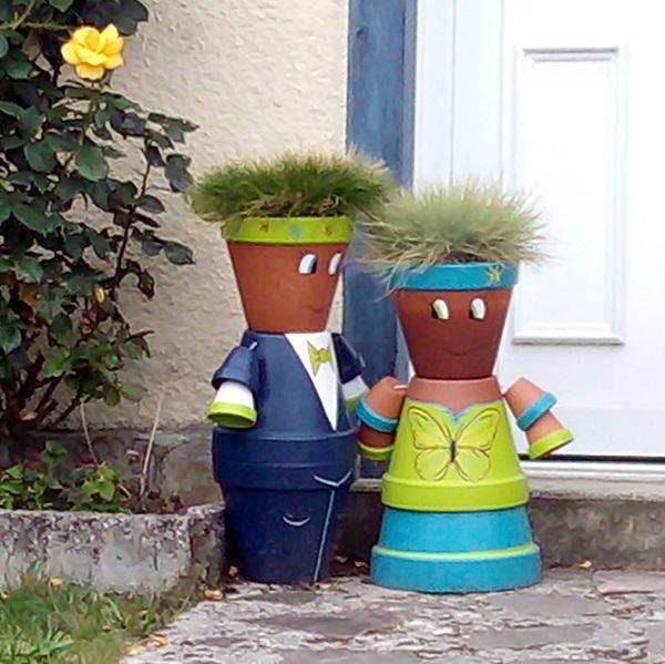 Flower Pot People by SF