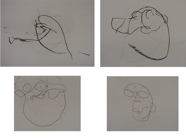 Exercise 1 - portraits gradually becoming more recognisable