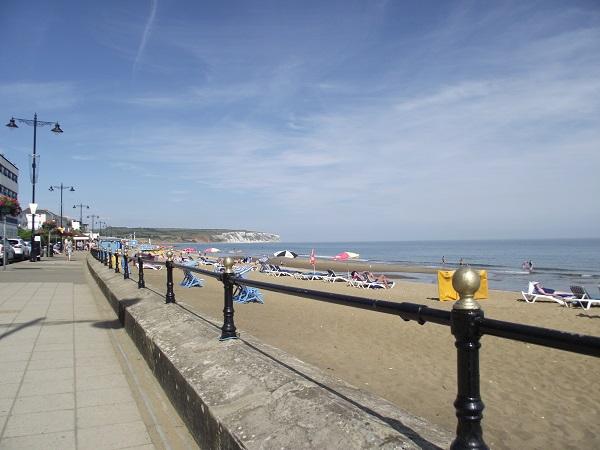 SashaQ's proof of visitation, glorious Sandown Beach, Isle of Wight