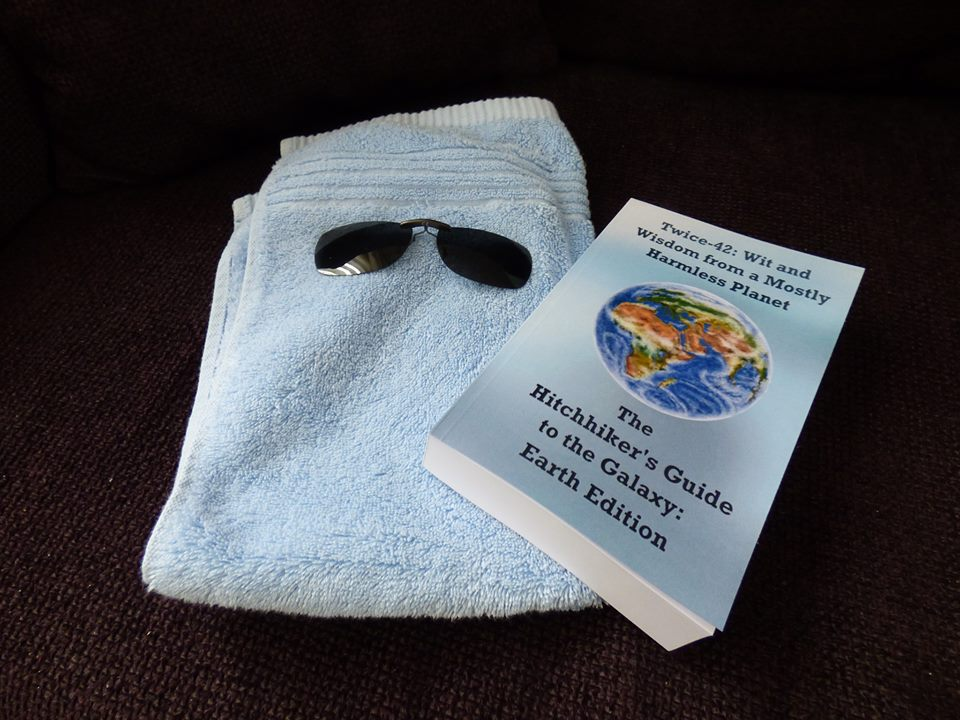 SashaQ's towel with book