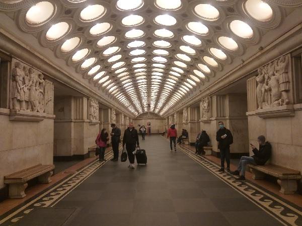 Moscow Train Station by Solnushka.