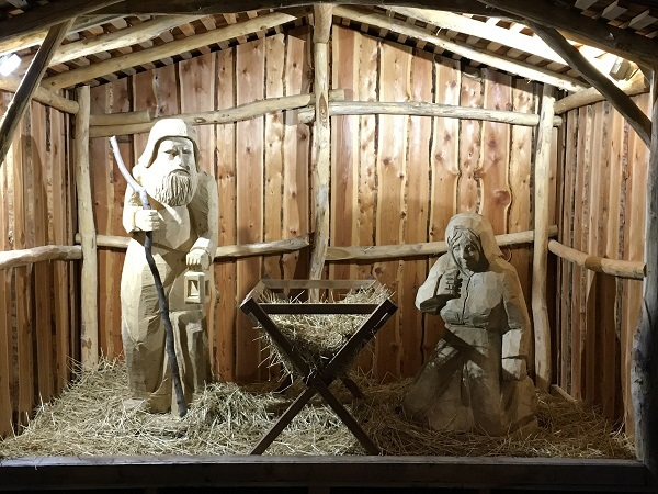 Nativity Scene in Austria