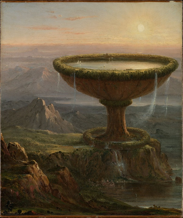 Titan's Goblet by Thomas Cole, 1833