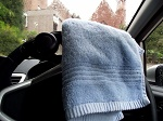 TowelQ driving.