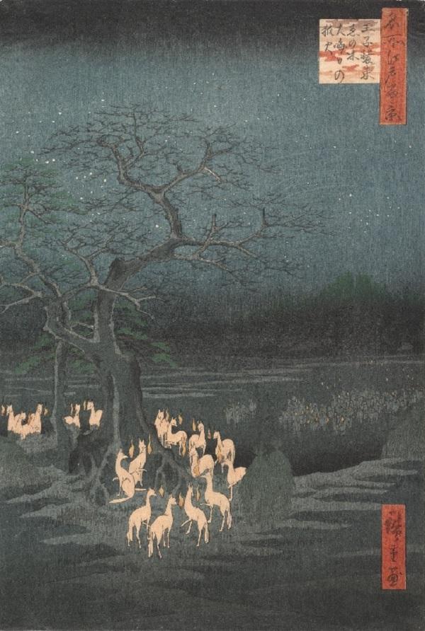 Foxfire by Utagawa