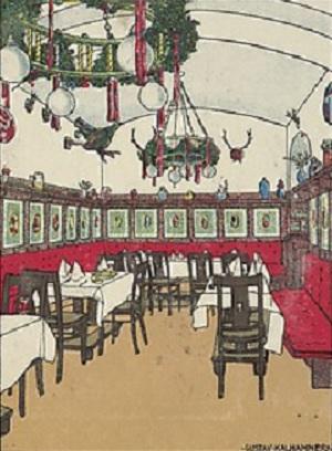 Vienna Train Station Restaurant, Metropolitan Museum of Art.