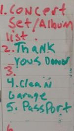 Amy's to-do list.