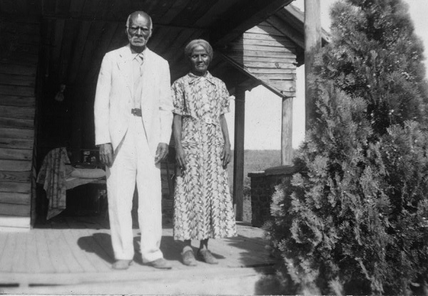 Anderson and Minerva Edwards by Federal Writers' Project