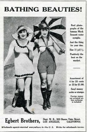 Bathing beauties of the Roaring Twenties.
