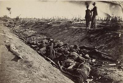 Antietam Battlefield by Alexander Gardner, 1862