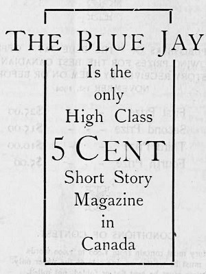 Bluejay Magazine ad