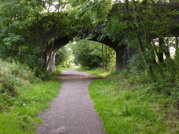 Arched Road by bobstafford