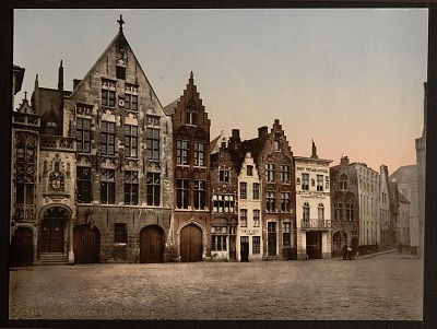 Bruges around 1900.