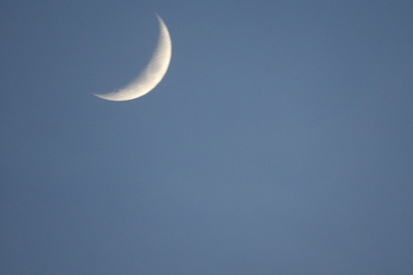 Moon in Sky by bobstafford
