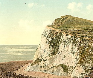 The Cliffs of Dover, courtesy Library of Congress