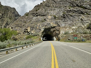 A tunnel somewhere in the Southwest US