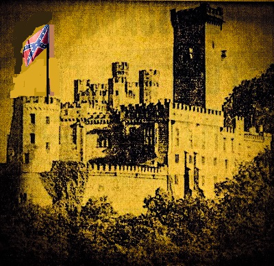 A castle in Poland, flying a Confederate flag. You'll have to read the story to find out why.