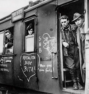 Czech refuges after the war.