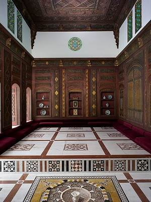 The Damascus Room.