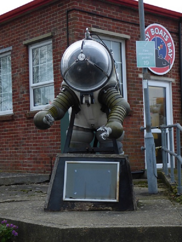 Diving Suit Notice Board by SashaQ
